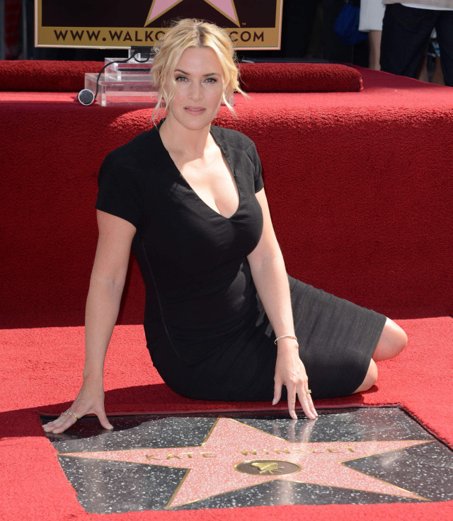 Kate Winslet Honored With Star On The Hollywood Walk Of ... Kate Winslet Movies