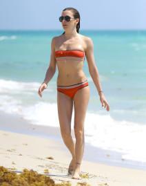 Katie Cassidy Shows Off Her Bikini Body
