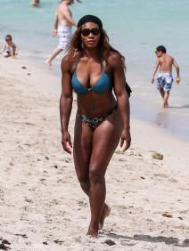 Serena Williams Shows Off Her Bikini Body In Miami