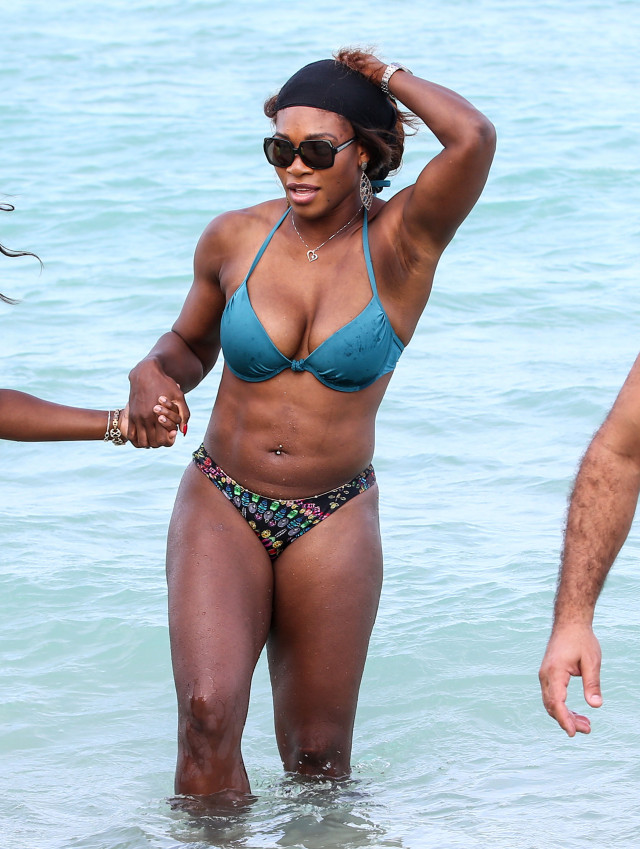 williams beach bikini Serena