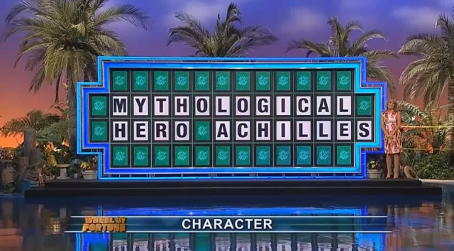 Wheel of fortune busty
