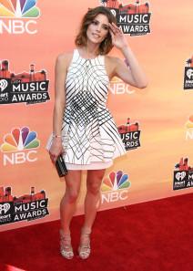 Ashley Greene at The 2014 iHeart Radio Music Awards in LA