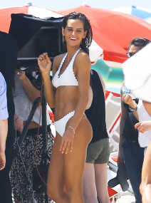 Izabel Goulart Does A Bikini Photo Shoot In Miami