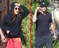 Mila Kunis & Ashton Kutcher Have A Drama Filled Dog Walk!