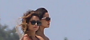 Vanessa Hudgens and Ashley Tisdale Have Fun In the Sun in Miami