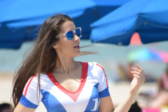 Anais Zanotti Shows Her Love For France In Miami