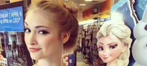 Anna Faith, Disney's Elsa?