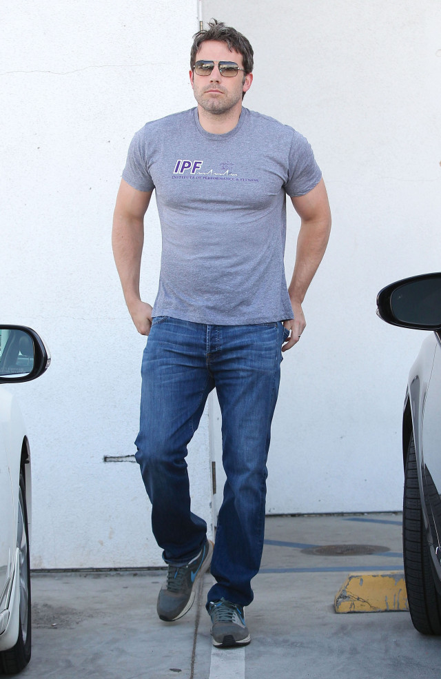 Ben Affleck Takes Seraphina Shopping In Beverly Hills