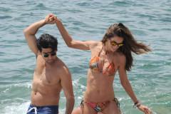 Izabel Goulart Shows Off Her Bikini Body