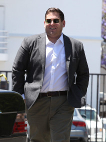 Jonah Hill Lunches At Hugo's