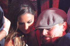 Katie Cleary With Leonardo DiCaprio