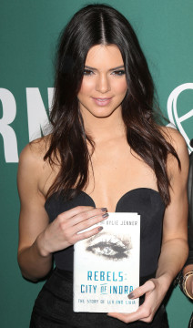 Kendall Jenner Signs Copies Of Her Book 'Rebels: City Of Indra: The Story of Lex And Livia'