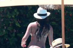 Lea Michele Shows Off Her Bikini Body In Cabo