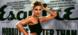 Cameron Diaz, Esquire, August 2014