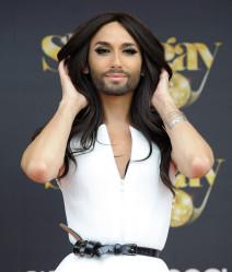Conchita Wurst Receives 'Madrid Pride' Award 2014
