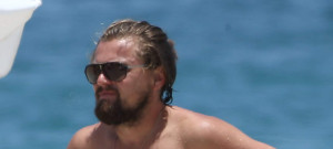 Leonardo DiCaprio Spends The Day At The Beach