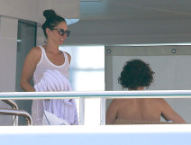 Orlando Bloom Vacations With Erica Packer