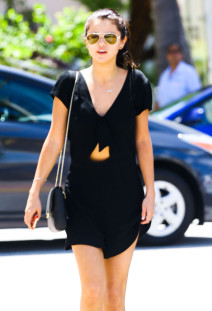 Selena Gomez Spotted Out And About In Miami