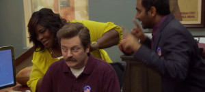 Parks and Recreation Gag Reel