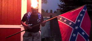 confederate flag ice bucket challenge