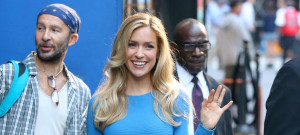 "Celebrities Visit ""Good Morning America"""