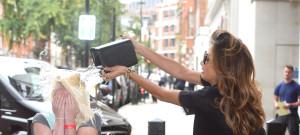 Nicole Scherzinger Helps A Fan With ALS Ice Bucket Challenge