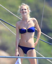 Delevingne Shows Off Her Bikini Body