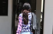Selena Gomez Rocks Short Shorts To A Meeting
