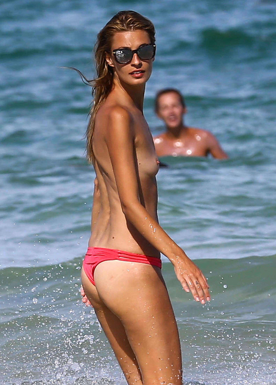 Topless bikini shows