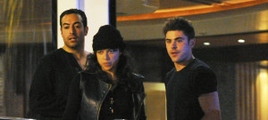 Michelle Rodriguez & Zac Efron Spotted Leaving A Yacht In Spain