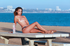 Chelsea Heath Does A Sexy Photo Shoot In Malibu