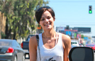 Jaimie Alexander Lunches At Froma