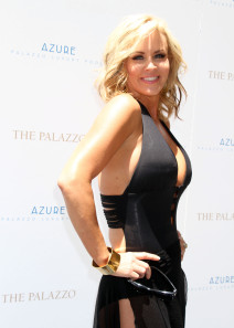 Jenny McCarthy Hosts A Pool Party