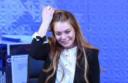 "Lindsay Lohan West End Debut In ""Speed The Plow"""