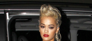 Rita Ora Arrives At 20th Century Theatre