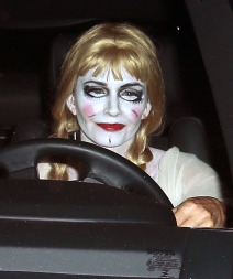 Celebrities Attend Kate Hudson's Halloween Party
