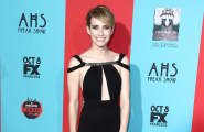 Emma Roberts at The American Horror Story: Freak Show Premiere in LA