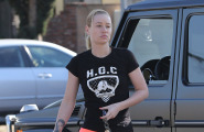 Iggy Azalea Running Errands In LA