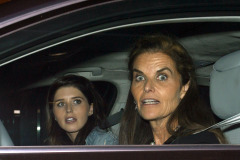 Maria Shriver Takes Katherine To Dinner At Mr Chow