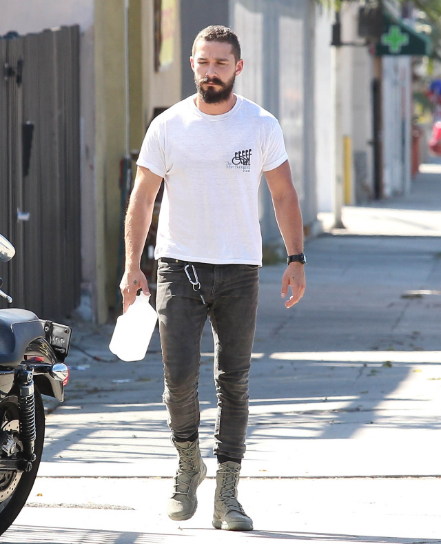 Shia LaBeouf Gets His Workout In | 188837 | Photos | The ...