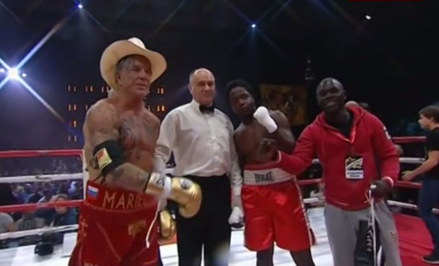Mickey Rourke Won His Staged Boxing Match | The Blemish