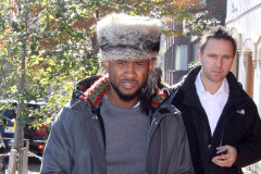 Usher & Grace Take A Stroll Through Georgetown