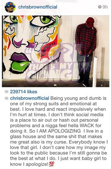 Chris Brown Karreuch Tran Cheating With Drake Instagram 03