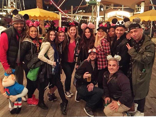 Christina Aguilera Disneyland Mickey Mouse Asshole
