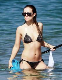 Olivia Wilde & Jason Sudeikis Enjoy A Family Beach Day In Hawaii