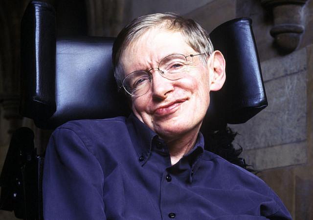 Stephen Hawking as James Bond Villain