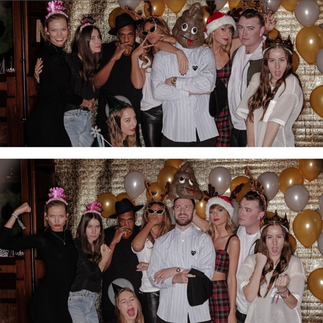 Taylor Swift 25th Birthday Party with Jay-Z, Beyonce, Justin Timberlake