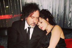 Tim Burton Helena Bonham Carter Split