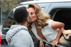 John Legend & Chrissy Teigen Do A Photo Shoot In NYC