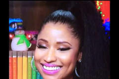 Nicki Minaj nip slip on Watch What Happens Live with Andy Cohen.